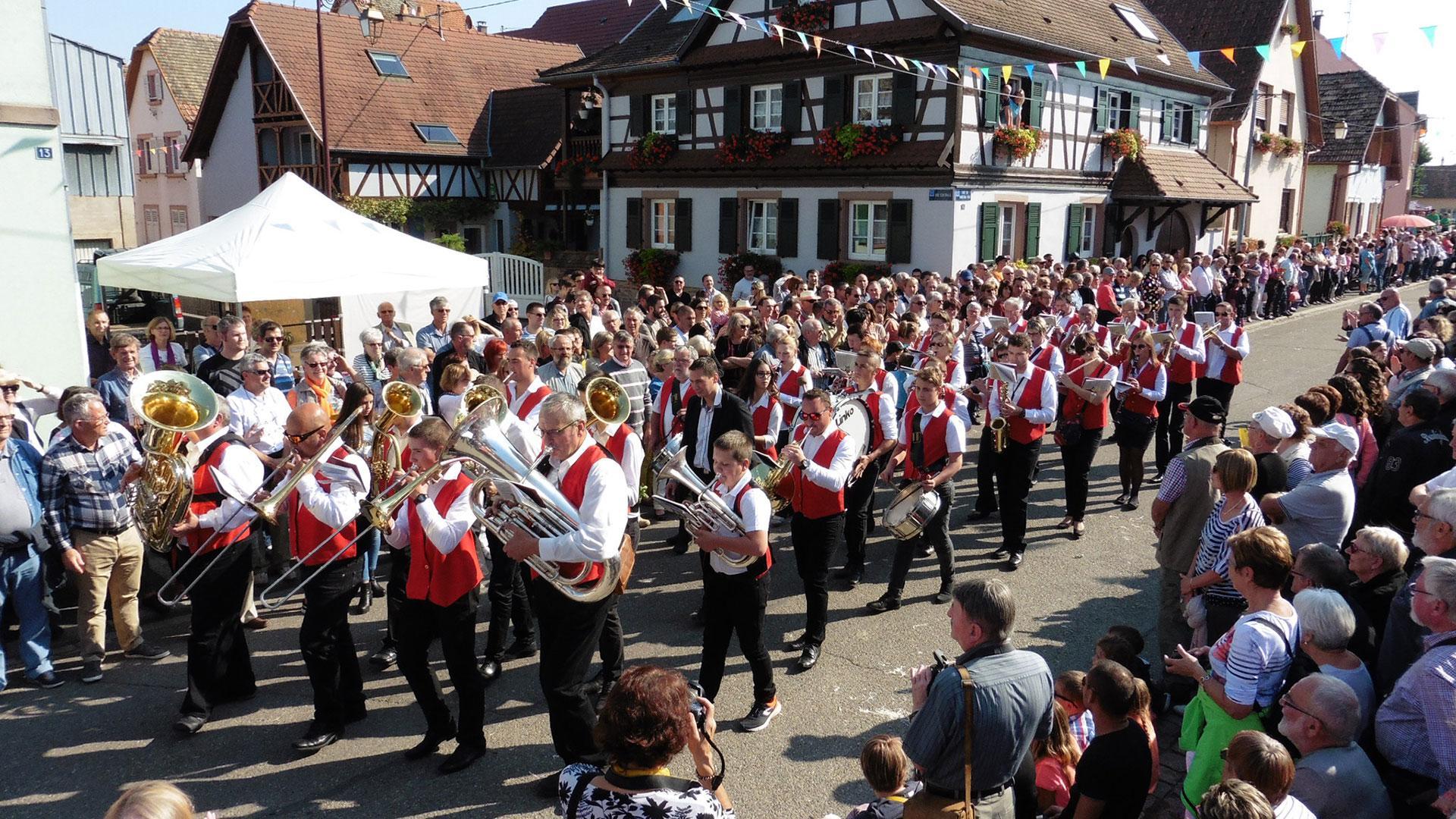 Photo de la Fête de la Choucroute à Krautergersheim - 1